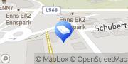 Karte KNEIDINGER GesmbH & Co KG Enns, Österreich