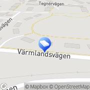 Karta Svenska Folkbyggens Bostadsrättsförening Nr 2 Karlskoga, Sverige