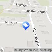 Karta KN Process & Produktionsutveckling AB Näsum, Sverige