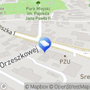 Mapa Osadowski Jan. Kancelaria Kamień Pomorski, Polska