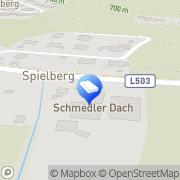 Karte Schmedler Dach GmbH Spielberg, Österreich