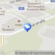 Karte Greibich Installations Greinsfurth, Österreich