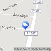 Karta Alsen, - Tranås, Sverige