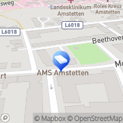 Karte Arbeitsmarktservice Amstetten Amstetten, Österreich