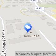 Karta Jålek Plåt AB Väckelsång, Sverige