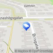 Karta Åkessons El-Service & Projektledning AB Motala, Sverige