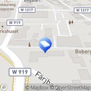 Karta Fastighetsbyrån - en del av Swedbank Leksand, Sverige