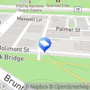 Map Mintec Systems Melbourne East, Australia