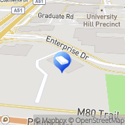 Map Media Fortress Bundoora, Australia