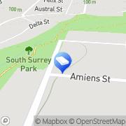 Map Anderson Construction Project Management Surrey Hills, Australia