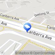 Map Hydraulink Canberra Fyshwick, Australia
