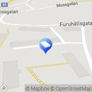 Karta Iss Facility Services Ludvika, Sverige