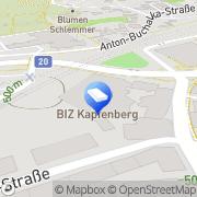 Karte Berger § Pusswald Rechtsanwälte, Mag. Ulrich Berger und Mag. Christof Pusswald GbR Kapfenberg, Österreich