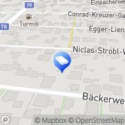 Karte RUBY Ges.m.b.H. SANDSTRAHL und DRUCKLUFTTECHNIK Graz, Österreich