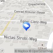 Karte Bad Aussee Krautberg Graz, Österreich