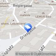 Karte Frühwirth Josef GesmbH Graz, Österreich