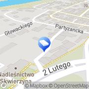 Mapa Gogoc Sławomir. Transport Skwierzyna, Polska