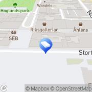 Karta Länsförsäkringar Fastighetsförmedling Karlskrona, Sverige