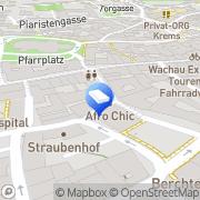 Karte HTV Handwerk Technik Vertrieb Krems an der Donau, Österreich