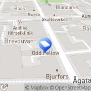 Karta Replakon Ekonomiservice Linköping, Sverige