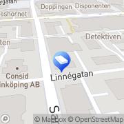 Karta Riksmäklaren i Linköping Linköping, Sverige