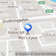 Karta Fönsterputsarn i Linköping Linköping, Sverige