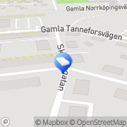 Karta HBERGS Idrottspriser & Gravyr AB Linköping, Sverige