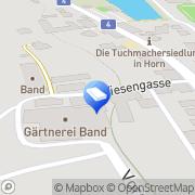 Karte Band Garten Horn, Österreich