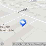 Karta Mekano-Plast Falun, Sverige