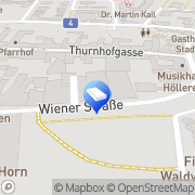 Karte IMMO-CONTRACT Makler GesmbH Horn, Österreich