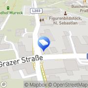 Karte ROTH Handel & Bauhandwerkerservice Mureck, Österreich