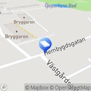 Karta Hali Transport AB Edsbyn, Sverige