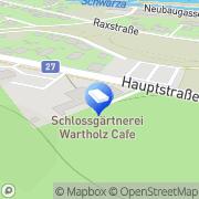 Karte Schlossgärtnerei Wartholz Raxen, Österreich