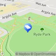Map HighLine Fencing - Fences & Gates Ryde, Australia