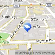 Map POP Business Chippendale, Australia