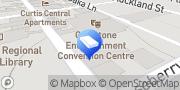 Map Public Trustee of Queensland Gladstone Central, Australia