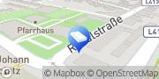 Karte Friseur Frohlocke Ternitz, Österreich