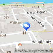 Karte IMMO-CONTRACT Makler GesmbH Tulln, Österreich
