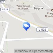 Karta Mälardalens Elektriska AB Kungsör, Sverige