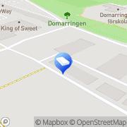 Karta Clar Products Norrköping, Sverige