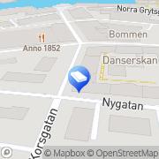 Karta Mikael Jonssons Transport AB Norrköping, Sverige