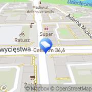 Mapa Trans Miś Koszalin, Polska
