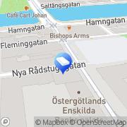 Karta Nordifa Industri AB Norrköping, Sverige
