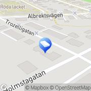 Karta ConRedia AB Norrköping, Sverige