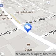 Karte IMMO-CONTRACT Makler GesmbH Oberwart, Österreich