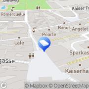Karte IMMO-CONTRACT Makler GesmbH Baden, Österreich