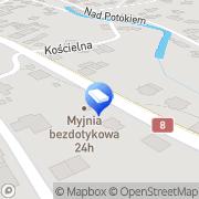 Map Ciepierscy. Pogrzeby Malá Čermná, Czech Republic