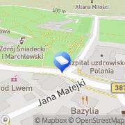 Map Cosel Liliana, mgr. Kancelaria Malá Čermná, Czech Republic