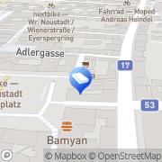 Karte Zielbauer Georg OHG Wiener Neustadt, Österreich