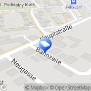Karte SIEBERT & PARTNER Steuerberatungs-GmbH Felixdorf, Österreich
